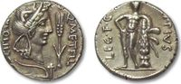 ROMAN REPUBLIC AR Denarius 47-46 B.C. VF+/EF with attractive toning Q. C... 616,00 EUR  zzgl. Versand