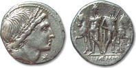 ROMAN REPUBLIC AR denarius 109-108 B.C. VF+ L. Memmius, Rome 148,00 EUR  zzgl. Versand