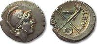 ROMAN REPUBLIC AR denarius 48 B.C. EF steelgrey toning with gold irrides... 424,00 EUR  zzgl. Versand