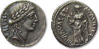ROMAN REPUBLIC AR denarius 49 B.C. VF+/EF beatiful toning Mn. Acilius Gl... 244,00 EUR  zzgl. Versand