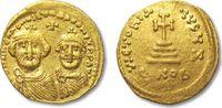 AV gold solidus 610-641 A.D. BYZANTINE EMPIRE Heraclius and Heraclius C... 378,00 EUR  zzgl. 11,50 EUR Versand