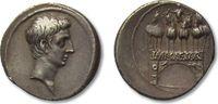 AR Denarius 30-27 B.C. ROMAN REPUBLIC Octavian / Octavianus, Brundisium... 938,00 EUR  zzgl. 11,50 EUR Versand