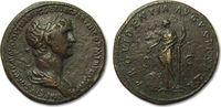 AE sestertius 114-117 A.D. ROMAN EMPIRE Trajan / Trajanus, Rome -- full... 465,00 EUR  zzgl. 11,50 EUR Versand