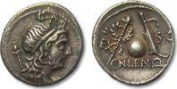 AR denarius 76-75 B.C. ROMAN REPUBLIC Cn. Cornelius Lentulus, Rome -- b... 195,00 EUR  zzgl. 11,50 EUR Versand