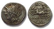 Denarius 104 B.C. ROMAN REPUBLIC AR silver denarius C. Coilius/Coelius ... 158,00 EUR  zzgl. 11,50 EUR Versand