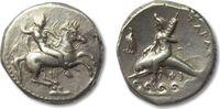 AR didrachm 290-281 B.C. ANCIENT GREECE Calabria, Tarentum VF+ nice lig... 485,00 EUR  zzgl. 11,50 EUR Versand