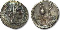 Denarius 43 - 42 B.C. ROMAN REPUBLIC C. Cassius Longinus & P. Cornelius... 825,00 EUR  zzgl. 11,50 EUR Versand