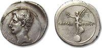 AR Denarius 32-29 B.C. ROMAN REPUBLIC Octavian / Octavianus, Victory at... 1056,00 EUR  zzgl. 11,50 EUR Versand