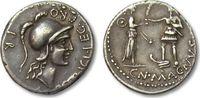AR Denarius 46-45 B.C. ROMAN REPUBLIC Pompey/Pompeius Magnus and M. Pob... 522,56 EUR  zzgl. 11,50 EUR Versand