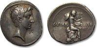 AR Denarius 32-27 B.C. ROMAN REPUBLIC Octavian / Octavianus, Rome or Br... 585,00 EUR  zzgl. 11,50 EUR Versand