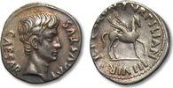 AR Denarius 19-18 B.C. ROMAN EMPIRE Augustus, P. Petronius Turpilianus ... 874,00 EUR  zzgl. 11,50 EUR Versand