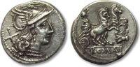AR Denarius 179-170 B.C. ROMAN REPUBLIC anonymous issue, Rome -- Fly se... 386,00 EUR  zzgl. 11,50 EUR Versand