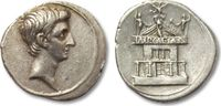 AR Denarius 29-27 B.C. ROMAN REPUBLIC Octavian / Octavianus Augustus, u... 880,20 EUR  zzgl. 11,50 EUR Versand