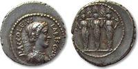 AR Denarius 43 B.C. ROMAN REPUBLIC P. Accoleius Lariscolus, Rome --high... 437,40 EUR  zzgl. 11,50 EUR Versand