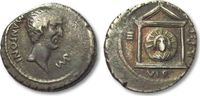AR Denarius 42 B.C. ROMAN REPUBLIC Marc Antony, Epirus (?) / mobile mil... 471,60 EUR  zzgl. 11,50 EUR Versand