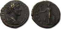 AE As 151-152 A.D. ROMAN EMPIRE Marcus Aurelius as Caesar, Rome VF+ dar... 115,20 EUR  zzgl. 11,50 EUR Versand