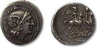 AR Quinarius 211-210 B.C. ROMAN REPUBLIC anonymous issue, Rome vz with ... 275,00 EUR  zzgl. 11,50 EUR Versand