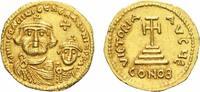 BYZANZ Heraclius mit seinem Sohn Constantinus. Solidus Mzst. Konstantino... 950,00 EUR kostenloser Versand