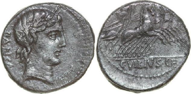 AR Denarius 90 BC Republican C. VIBIUS PANSA, Rome/QUADRIGA ss