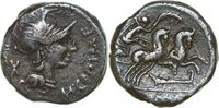 Republican AR Denarius M. CIPIUS, Rome/BIGA