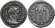 AR ½ Argenteus 307 - 308 AD Imperial CONSTANTINUS I, Trier/CAMPGATE vz  1750,00 EUR kostenloser Versand