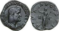 Imperial Æ Sestertius 235 - 238 AD vz- MAXIMINUS I, Rome/PAX 300,00 EUR kostenloser Versand