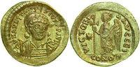 Byzantine SOLIDUS 507 - 518 AD unz ANASTAS...
