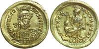 AV Solidus 430 - 440 AD Imperial THEODOSIUS II, Constantinople/CONSTANT... 1020,00 EUR kostenloser Versand