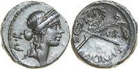 AR Denarius 49 BC Republican Q. SICINIUS COPONIA, Rome/CADUCEUS AND PAL... 120,00 EUR