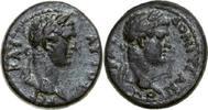 79 - 81 AD Provincial TITUS & DOMITIANUS, Æ-18, Germe/BUSTS   220,00 EUR  zzgl. 12,00 EUR Versand