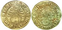 GELRE HERTOGDOM  1402-1423 aEF REINALD IV, Goldgulden, Arnhem/ST. JOHN 650,00 EUR 