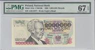000 Zlotych 1993 Poland POLAND P.163a - 2000. 1993 PMG 67 EPQ PMG Grade... 100,00 EUR80,00 EUR  zzgl. 12,00 EUR Versand