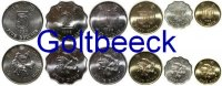 HONG KONG    Set of 6 coins 1993+, 10, 20, 50 Cents, 1, 2, 5 $ UNC 6,00 EUR