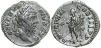 Roman Empire  193-211 AD. VF SEPTIMIUS SEV...