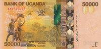 Uganda 50.000 Shillings 2010 unz UGANDA P....