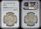 2 ½ Gulden  Netherlands NETHERLANDS, Willem II 1847 NGC AU 58 AU 58  180,00 EUR  zzgl. 12,00 EUR Versand