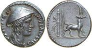 AR Denarius 55 BC Republican Cn. PLANCIUS, Rome/GOAT vz  450,00 EUR kostenloser Versand