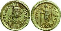 AV Solidus 462 - 466 AD Imperial LEO I, Co...
