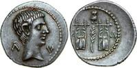 AR Drachm 27 BC v. Chr. Provincial AUGUSTUS, Masicytus/CITHARAE vz  840,00 EUR kostenloser Versand
