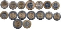 NORTH & SOUTH AMERICA 16x DIFFERENT UNC BI-METALLIC COINS unz  40,00 EUR  zzgl. 12,00 EUR Versand
