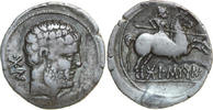 AR Denarius 150 - 100 BC v. Chr. Spain, Gaul and Britain SPAIN - BOLSKA... 120,00 EUR  zzgl. 12,00 EUR Versand