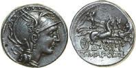 AR Denarius 111 - 110 BC v. Chr. Republican ROMAN REPUBLIC Appius Claud... 280,00 EUR  zzgl. 12,00 EUR Versand