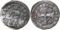 Hungary  1235-1270 VF BLA IV, AR Denar/CROSS
