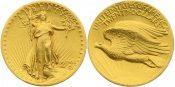 "USA 20 Dollar 1907 (MCMVII) ss-vz ""Sa..."