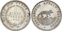 1/6 Taler 1862 A Deutschland - Anhalt  stgl.  70,00 EUR inkl. gesetzl. MwSt., zzgl. 9,90 EUR Versand