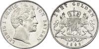 2 Gulden 1848 Deutschland - Bayern Ludwig I. (1825 - 1848) vz  150,00 EUR inkl. gesetzl. MwSt., zzgl. 9,90 EUR Versand