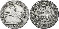 1/6 Taler 1764 IDB Deutschland - Braunschweig - Wolfenbüttel Karl I. (1... 70,00 EUR inkl. gesetzl. MwSt., zzgl. 9,90 EUR Versand
