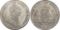 Deutschland - Bayern Taler 1808 ss+/vz Maximililan I. (1799 - 1825) 420,00 EUR inkl. gesetzl. MwSt.,  zzgl. 9,90 EUR Versand