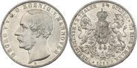 Doppeltaler 1855 B Deutschland - Hannover Georg V. (1851 - 1866) vz  320,00 EUR inkl. gesetzl. MwSt., zzgl. 9,90 EUR Versand