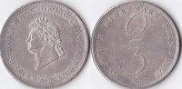2/3 Taler, 1827, Deutschland, Königreich Hannover,Georg IV., vz.,  350,00 EUR  + 5,00 EUR frais d'envoi